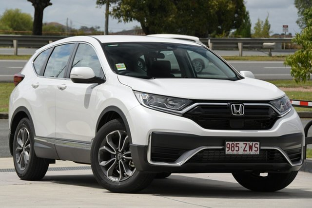 New Honda CR-V RW MY21 VTi FWD X Hornsby, 2020 Honda CR-V RW MY21 VTi FWD X Platinum White 1 Speed Constant Variable Wagon
