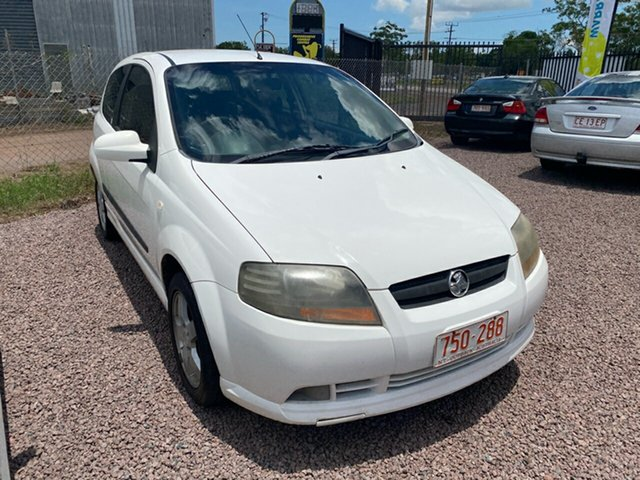 Used Holden Barina TK Berrimah, 2005 Holden Barina TK White 5 Speed Manual Hatchback