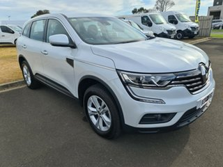 2019 Renault Koleos HZG MY20 Life X-tronic White 1 Speed Constant Variable Wagon.