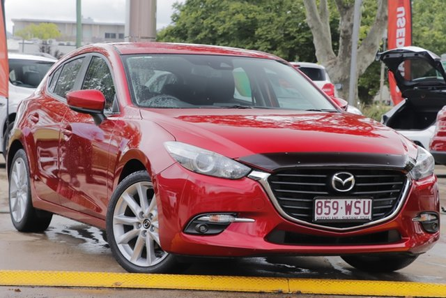 Used Mazda 3 BN5436 SP25 SKYACTIV-MT, 2016 Mazda 3 BN5436 SP25 SKYACTIV-MT Red 6 Speed Manual Hatchback