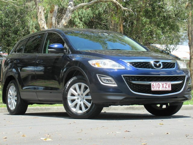 Used Mazda CX-9 TB10A3 MY10 Classic, 2010 Mazda CX-9 TB10A3 MY10 Classic Blue 6 Speed Sports Automatic Wagon