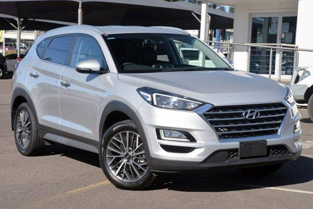 Used Hyundai Tucson TL3 MY19 Elite AWD Tuggerah, 2019 Hyundai Tucson TL3 MY19 Elite AWD Silver 8 Speed Sports Automatic Wagon