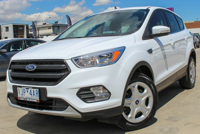 Used Ford Escape ZG Ambiente Coburg North, 2017 Ford Escape ZG Ambiente White 6 Speed Sports Automatic SUV