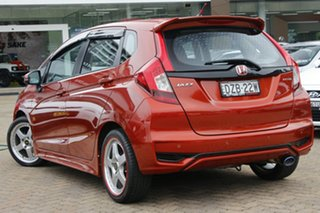 2018 Honda Jazz GK MY18 VTi Orange Continuous Variable Hatchback.