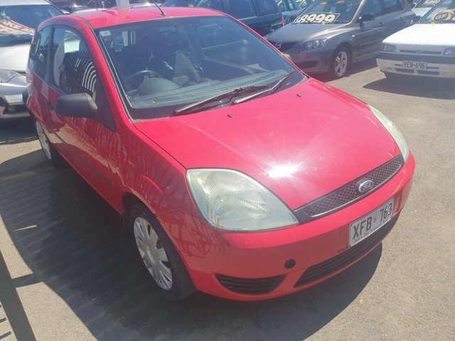Used Ford Fiesta WP LX Morphett Vale, 2005 Ford Fiesta WP LX Red 5 Speed Manual Hatchback