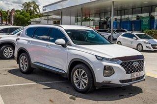 2020 Hyundai Santa Fe TM.2 MY20 Elite White 8 Speed Sports Automatic Wagon.