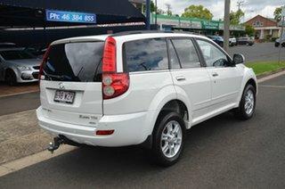 2013 Great Wall X200 CC6461KY MY11 (4x4) White 5 Speed Automatic Wagon.