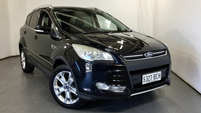 Used Ford Kuga TF Trend PwrShift AWD Elizabeth, 2013 Ford Kuga TF Trend PwrShift AWD Black 6 Speed Automatic Wagon