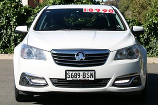 2013 Holden Calais VF MY14 Herron White 6 Speed Sports Automatic Sedan