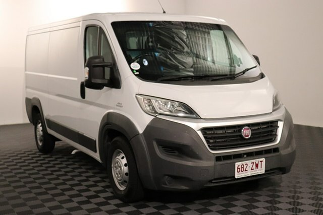 Used Fiat Ducato Series 4 Low Roof MWB Comfort-matic Acacia Ridge, 2015 Fiat Ducato Series 4 Low Roof MWB Comfort-matic White 6 speed Automatic Van