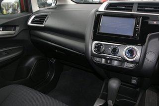 2018 Honda Jazz GK MY18 VTi Orange Continuous Variable Hatchback