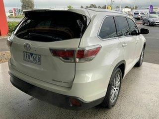 2015 Toyota Kluger GSU55R Grande (4x4) White 6 Speed Automatic Wagon