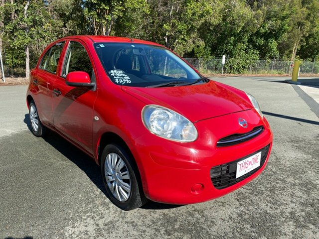 Used Nissan Micra K13 ST-L Morayfield, 2011 Nissan Micra K13 ST-L Red 5 Speed Manual Hatchback