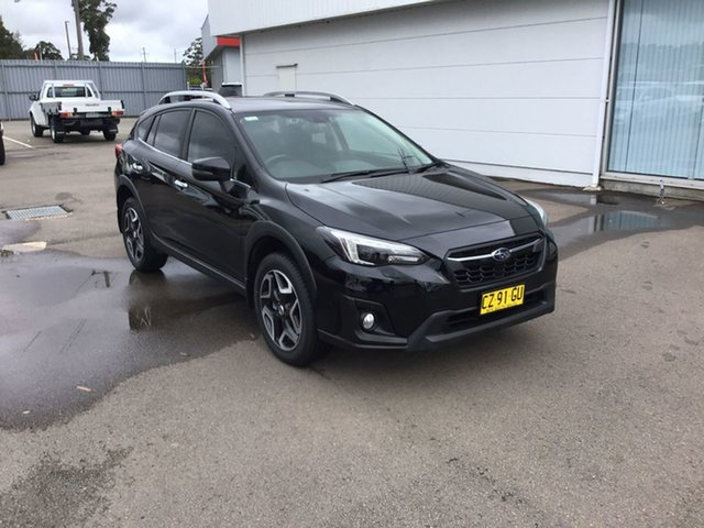 Used Subaru XV G5X MY18 2.0i-S Lineartronic AWD, 2017 Subaru XV G5X MY18 2.0i-S Lineartronic AWD Black 7 Speed Constant Variable Wagon