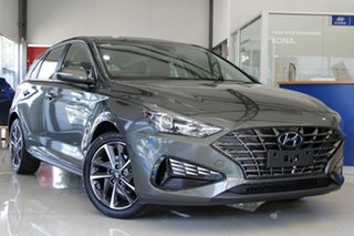 2020 Hyundai i30 PD.V4 MY21 Active Amazon Gray 6 Speed Automatic Hatchback.