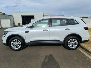 2019 Renault Koleos HZG MY20 Life X-tronic White 1 Speed Constant Variable Wagon