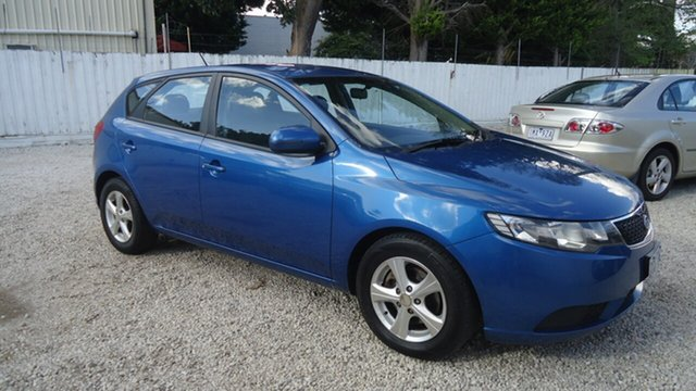 Used Kia Cerato TD MY13 SI Seaford, 2013 Kia Cerato TD MY13 SI Blue 6 Speed Sports Automatic Hatchback