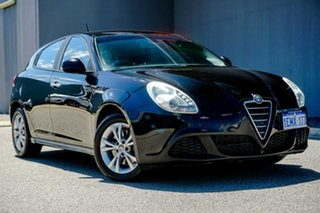 2014 Alfa Romeo Giulietta Series 0 MY13 Progression Black 6 Speed Manual Hatchback.