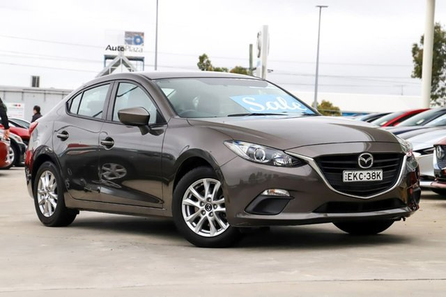 Used Mazda 3 BM5278 Neo SKYACTIV-Drive Kirrawee, 2015 Mazda 3 BM5278 Neo SKYACTIV-Drive Tatanium Flash 6 Speed Sports Automatic Sedan