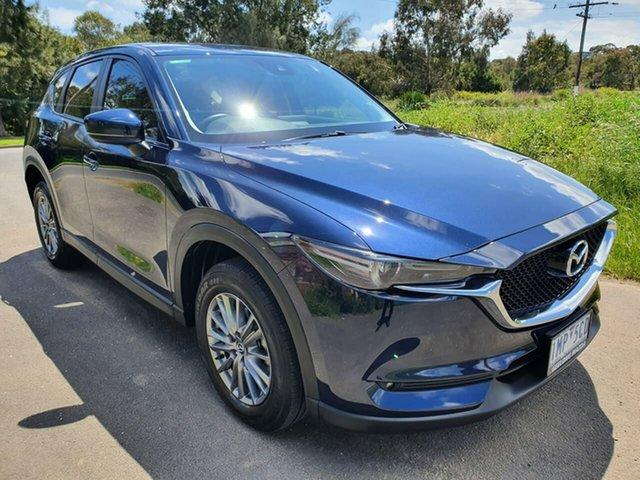 Used Mazda CX-5  Maxx Sport, 2018 Mazda CX-5 KF Series Maxx Sport Blue Sports Automatic Wagon