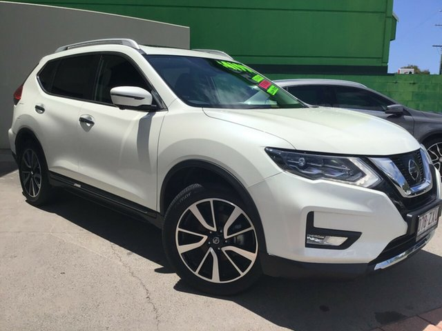 Used Nissan X-Trail T32 Series II Ti X-tronic 4WD Caloundra, 2019 Nissan X-Trail T32 Series II Ti X-tronic 4WD Ivory Pearl 7 Speed Constant Variable Wagon