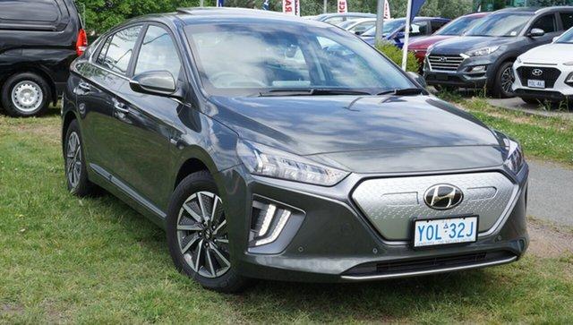 Demo Hyundai Ioniq AE.3 MY20 electric Premium Phillip, 2020 Hyundai Ioniq AE.3 MY20 electric Premium Amazon Gray 1 Speed Reduction Gear Fastback