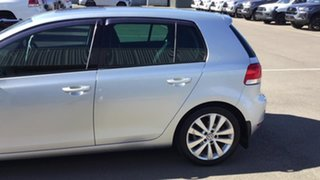 2011 Volkswagen Golf VI MY11 118TSI DSG Comfortline Silver 7 Speed Sports Automatic Dual Clutch