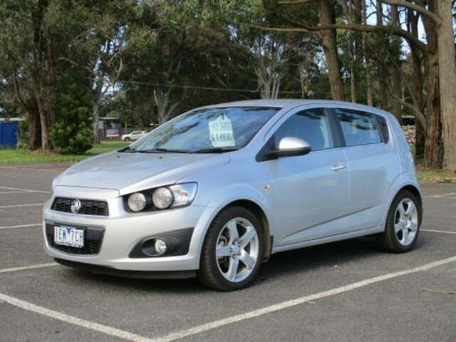 Used Holden Barina TM CDX Timboon, 2015 Holden Barina TM CDX Nitrate Automatic Hatchback