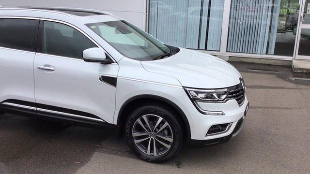 Used Renault Koleos HZG Intens X-tronic, 2017 Renault Koleos HZG Intens X-tronic White 1 Speed Constant Variable Wagon