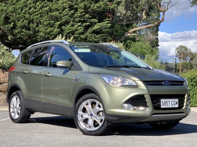 Used Ford Kuga TF Trend AWD Totness, 2013 Ford Kuga TF Trend AWD Ginger Ale 6 Speed Sports Automatic Wagon