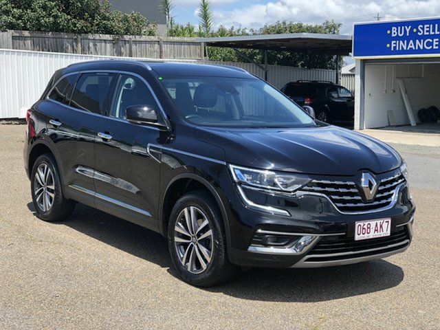Used Renault Koleos HZG MY20 Zen X-tronic, 2019 Renault Koleos HZG MY20 Zen X-tronic Black 1 Speed Constant Variable Wagon