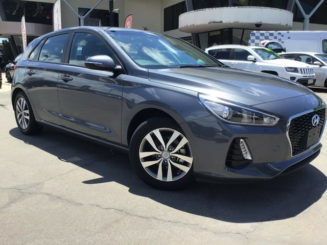 Used Hyundai i30 PD MY18 Active Caloundra, 2018 Hyundai i30 PD MY18 Active Grey 6 Speed Sports Automatic Hatchback