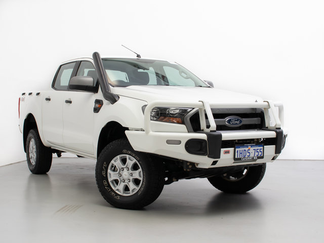 Used Ford Ranger PX MkII XLS 3.2 (4x4), 2016 Ford Ranger PX MkII XLS 3.2 (4x4) White 6 Speed Automatic Double Cab Pick Up
