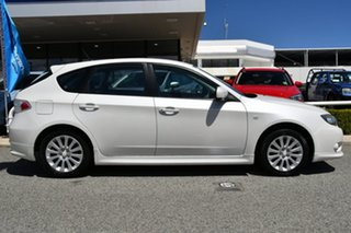 2011 Subaru Impreza G3 MY11 R AWD Satin White Pearl 4 Speed Sports Automatic Hatchback