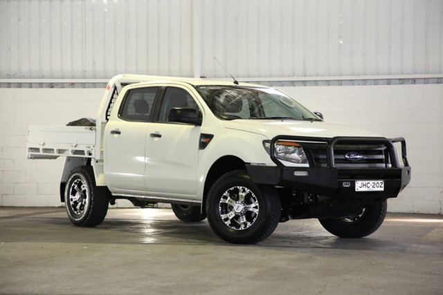 Used Ford Ranger PX MkII XL West Gosford, 2015 Ford Ranger PX MkII XL White 6 Speed Sports Automatic Cab Chassis