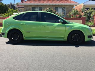 2007 Ford Focus LT XR5 Turbo Green 6 Speed Manual Hatchback.