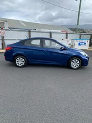2016 Hyundai Accent RB4 MY17 Active Blue 6 Speed Constant Variable Sedan.