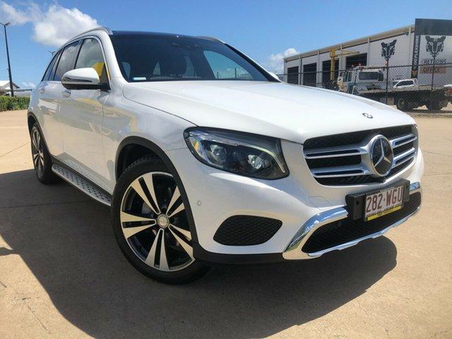 Used Mercedes-Benz GLC-Class X253 GLC250 d 9G-Tronic 4MATIC Townsville, 2016 Mercedes-Benz GLC-Class X253 GLC250 d 9G-Tronic 4MATIC White 9 Speed Sports Automatic Wagon