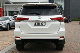 2019 Toyota Fortuner GUN156R GXL Pearl White 6 Speed Automatic SUV