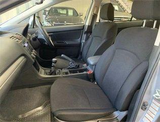 2012 Subaru Impreza G4 2.0I-L Silver Manual Sedan