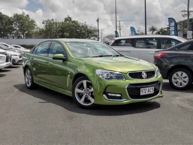 Used Holden Commodore VF II MY16 SV6, 2016 Holden Commodore VF II MY16 SV6 Green 6 Speed Sports Automatic Sedan
