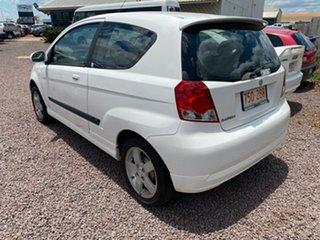 2005 Holden Barina TK White 5 Speed Manual Hatchback.