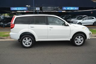 2013 Great Wall X200 CC6461KY MY11 (4x4) White 5 Speed Automatic Wagon