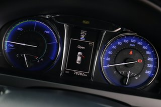 2017 Toyota Camry AVV50R Atara S Diamond White 1 Speed Constant Variable Sedan Hybrid