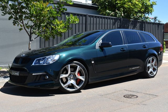 Used Holden Special Vehicles ClubSport Gen-F MY14 R8 Tourer Brighton, 2014 Holden Special Vehicles ClubSport Gen-F MY14 R8 Tourer Green 6 Speed Sports Automatic Wagon