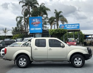 2011 Nissan Navara D40 ST Gold 5 Speed Automatic Utility.