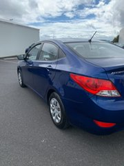 2016 Hyundai Accent RB4 MY17 Active Blue 6 Speed Constant Variable Sedan