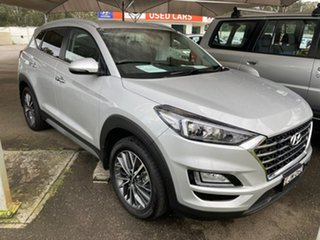 2019 Hyundai Tucson TL3 MY19 Elite AWD Silver 8 Speed Sports Automatic Wagon