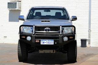 2009 Toyota Hilux KUN26R MY09 SR5 Xtra Cab Silver 5 Speed Manual Utility.