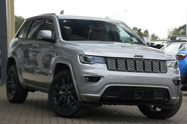 New Jeep Grand Cherokee WK MY20 Night Eagle Nunawading, 2020 Jeep Grand Cherokee WK MY20 Night Eagle Billet Silver 8 Speed Sports Automatic Wagon